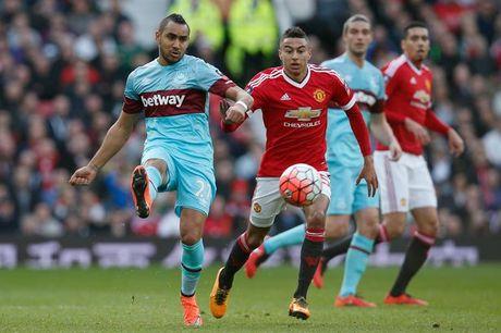 West Ham 0-0 Man Utd (H1): Fellaini, Lingard bo lo co hoi - Anh 11