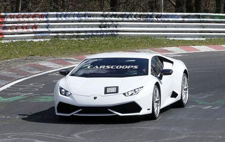 Lamborghini Huracan phien ban thu 6 lo dien - Anh 1