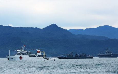 Tau VN tham gia dien tap hai quan Komodo o Indonesia - Anh 1