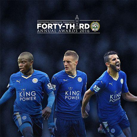 Leicester ap dao de cu Cau thu hay nhat nam cua bong da Anh - Anh 1