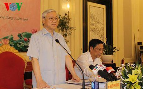 Tong Bi thu Nguyen Phu Trong tham va lam viec tai Quang Ninh - Anh 4