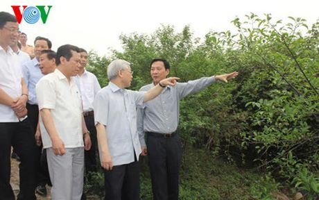 Tong Bi thu Nguyen Phu Trong tham va lam viec tai Quang Ninh - Anh 5