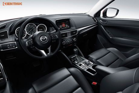 Mazda CX-3 phien ban 2016 an toan nhu the nao? - Anh 5