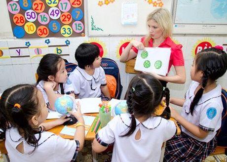 Bac Giang trien khai de an doi moi day hoc tieng Anh - Anh 1