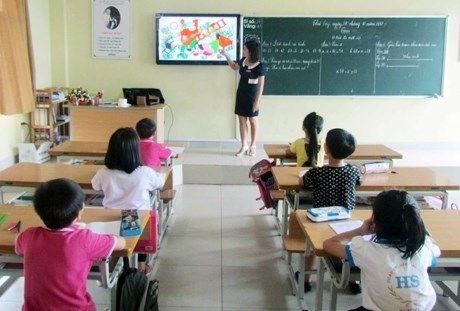 Bac Giang huong dan day hoc My thuat theo phuong phap moi - Anh 1