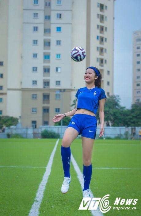 Hot girl Ha thanh xinh dep du doan doi tuyen Phap vo dich Euro 2016 - Anh 2