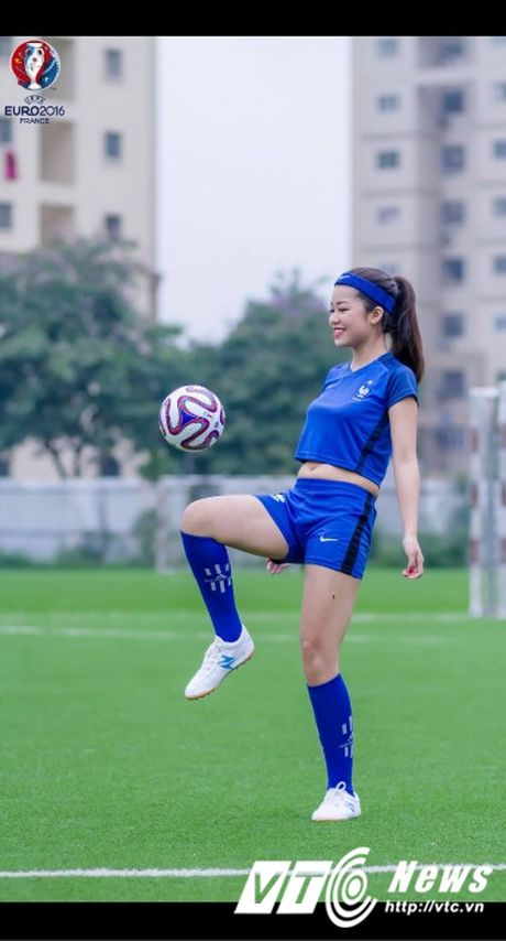 Hot girl Ha thanh xinh dep du doan doi tuyen Phap vo dich Euro 2016 - Anh 4