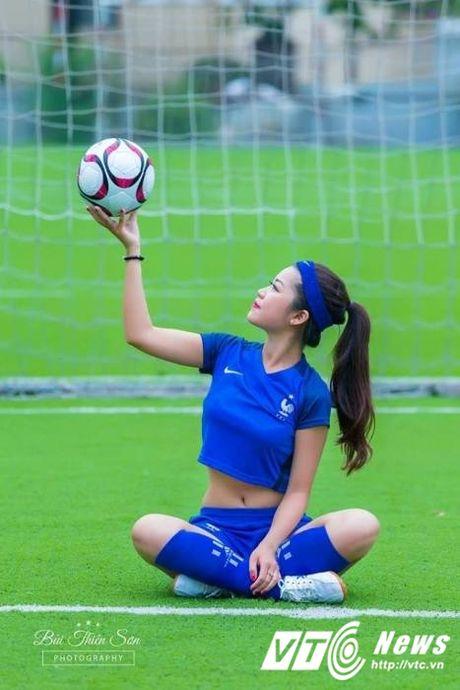 Hot girl Ha thanh xinh dep du doan doi tuyen Phap vo dich Euro 2016 - Anh 5