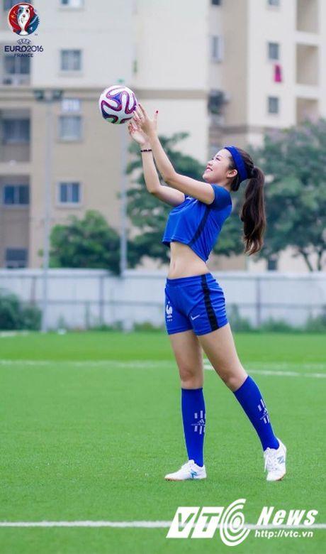 Hot girl Ha thanh xinh dep du doan doi tuyen Phap vo dich Euro 2016 - Anh 6