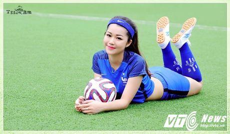 Hot girl Ha thanh xinh dep du doan doi tuyen Phap vo dich Euro 2016 - Anh 9