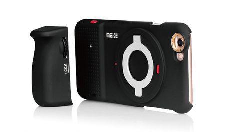 Meike gioi thieu bang tay cam kiem vo bao ve cho iPhone, co the gan ong kinh roi hoac Sony QX-1 - Anh 1