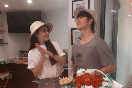 Nha Phuong nhin Kang Tae Oh au yem trong ngay sinh nhat - Anh 1