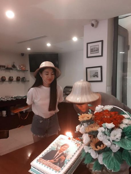 Nha Phuong nhin Kang Tae Oh au yem trong ngay sinh nhat - Anh 3