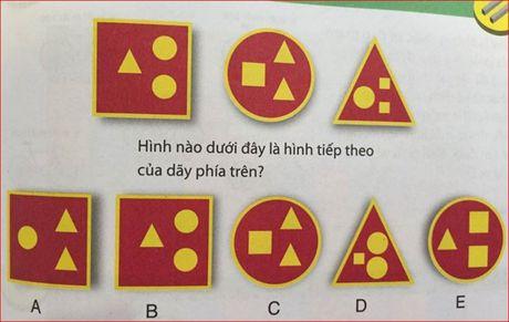 Bai toan hoc bua: Tim hinh phu hop voi quy luat - Anh 1