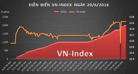 Chung khoan chieu 20/6: Gia dau keo VN-Index - Anh 2