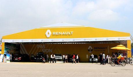 Renault to chuc trung bay, lai thu tai Thai Nguyen va Vung Tau - Anh 1