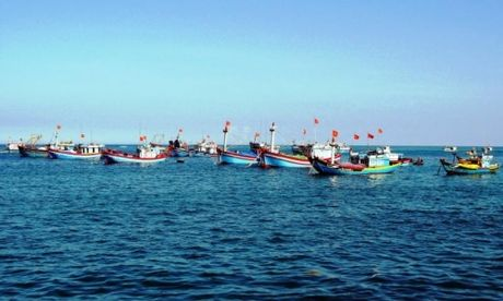 Indonesia trao tra 28 ngu dan Viet Nam - Anh 1