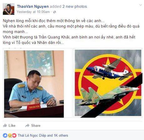 Tiec thuong tien Dai ta phi cong Tran Quang Khai ve voi bau troi - Anh 4