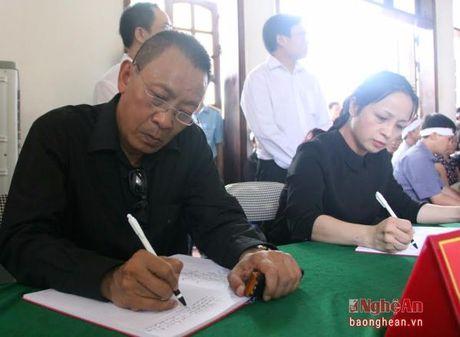 Lanh dao Dang, Nha nuoc, tinh Nghe An vieng Dai ta phi cong Tran Quang Khai - Anh 13