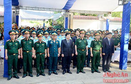 Lanh dao Dang, Nha nuoc, tinh Nghe An vieng Dai ta phi cong Tran Quang Khai - Anh 1
