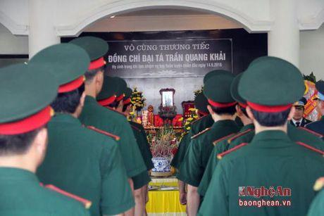 Lanh dao Dang, Nha nuoc, tinh Nghe An vieng Dai ta phi cong Tran Quang Khai - Anh 8