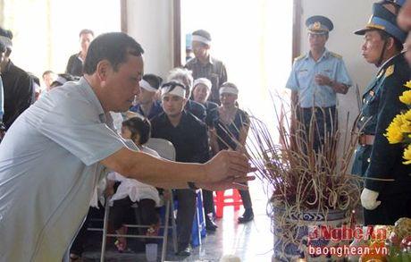 Lanh dao Dang, Nha nuoc, tinh Nghe An vieng Dai ta phi cong Tran Quang Khai - Anh 9