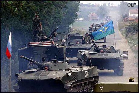 'Mo xe' xe chien dau bo binh danh cho linh du BMD-1 cua Nga - Anh 1