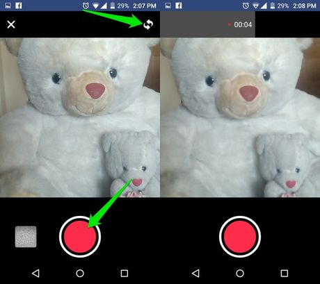 Huong dan cach dat anh dai dien Facebook bang video - Anh 2