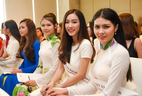 Nu sinh 9X gay chu y o casting Hoa hau Ban sac Viet toan cau - Anh 7