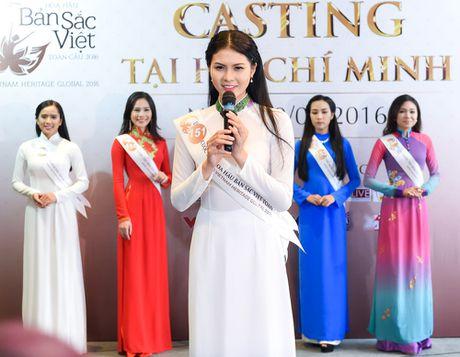 Nu sinh 9X gay chu y o casting Hoa hau Ban sac Viet toan cau - Anh 8