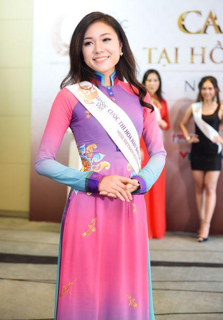 Nu sinh 9X gay chu y o casting Hoa hau Ban sac Viet toan cau - Anh 9