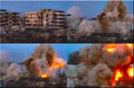 Quan doi Syria san phang toa nha cao tang cua phien quan Hoi giao - Anh 1