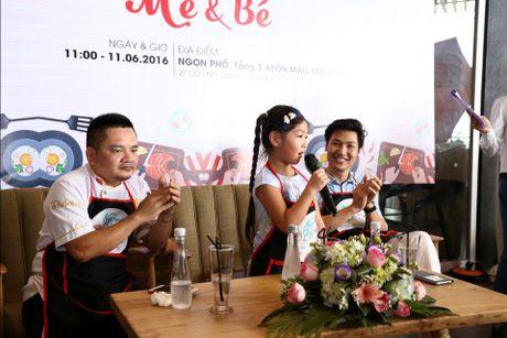 'Bo oi minh di dau the' - Dien vien Manh Truong va be Chip lam giam khao Gameshow - Anh 4