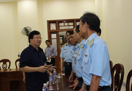 Pho Thu tuong tham hoi, dong vien gia dinh Dai ta Tran Quang Khai - Anh 1