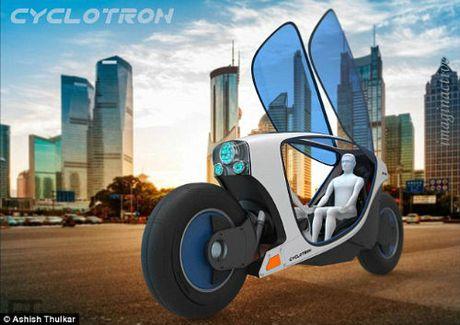 Moto dien tu lai Cyclotron toi tan cho tuong lai - Anh 3