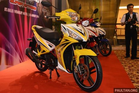 SYM Sport Rider 125i trinh lang tai thi truong Malaysia - Anh 1