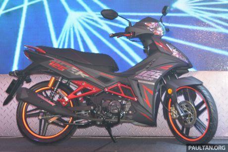 SYM Sport Rider 125i trinh lang tai thi truong Malaysia - Anh 2