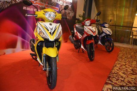 SYM Sport Rider 125i trinh lang tai thi truong Malaysia - Anh 3