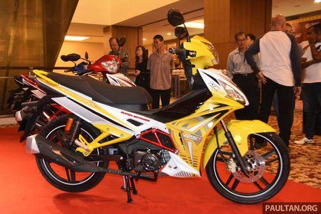 SYM Sport Rider 125i trinh lang tai thi truong Malaysia - Anh 4