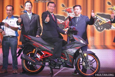 SYM Sport Rider 125i trinh lang tai thi truong Malaysia - Anh 5