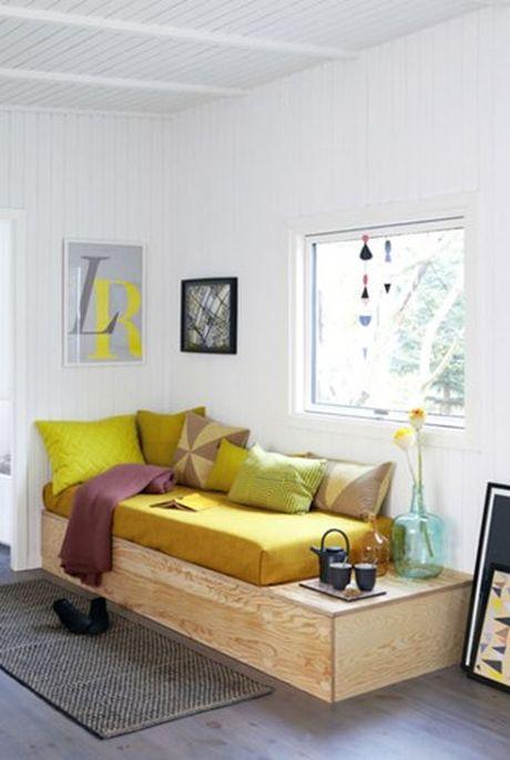 Goi y trang tri sofa bang goi cho phong khach quyen ru - Anh 1