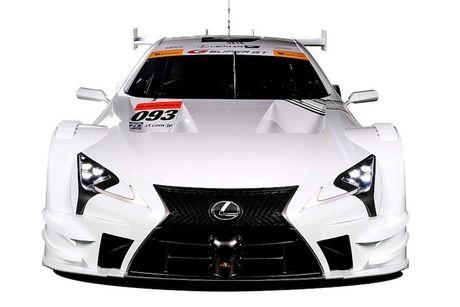 "Sieu xe dua LC500 Super GT ""cuc doc"" cua Lexus - Anh 2"