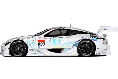 "Sieu xe dua LC500 Super GT ""cuc doc"" cua Lexus - Anh 3"