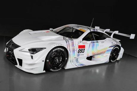 "Sieu xe dua LC500 Super GT ""cuc doc"" cua Lexus - Anh 5"