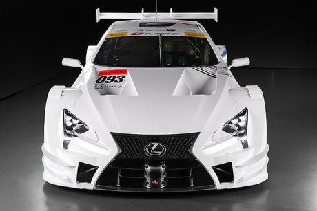 "Sieu xe dua LC500 Super GT ""cuc doc"" cua Lexus - Anh 6"
