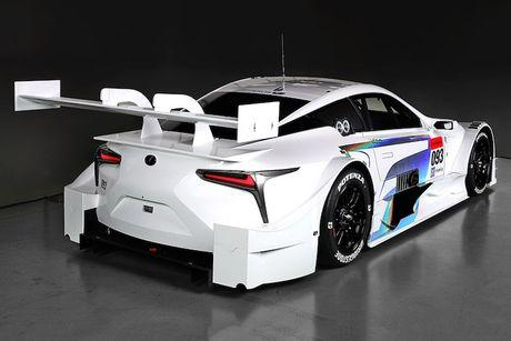 "Sieu xe dua LC500 Super GT ""cuc doc"" cua Lexus - Anh 7"