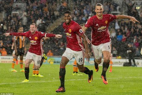 Rashford toa sang, pha 'noi am anh' Mourinho - Anh 1
