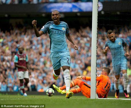 Chi tiet Man City - West Ham: Sterling hoan tat cu dup (KT) - Anh 5
