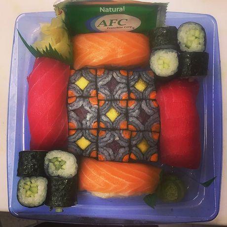 Ngo ngang voi nhung kiet tac 'moisac sushi' sieu hot tren Instargram - Anh 10