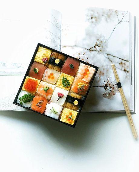 Ngo ngang voi nhung kiet tac 'moisac sushi' sieu hot tren Instargram - Anh 3